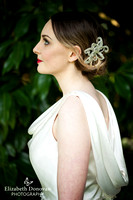 Styled Bridal Shoot - Red lip, classic