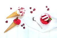 Ray's Ice Cream - commercial business photoshoot, Swindon