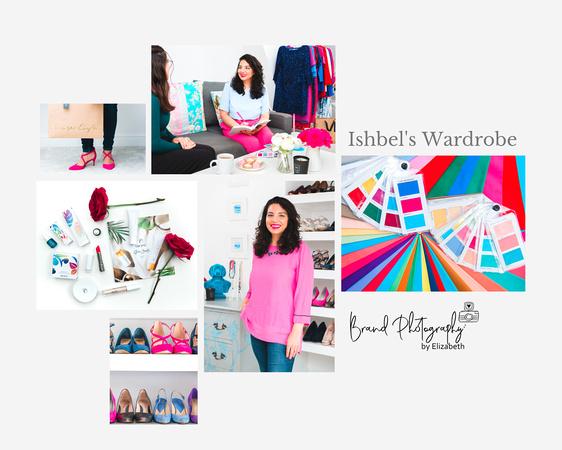 brand photography by elizabeth; brand photographer swindon, brand photographer wiltshire, Ishbels Wardrobe, Reshma Field